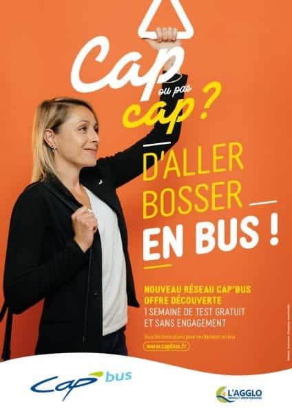 Agglomeration Hérault Méditerranée cap bus réseau transports