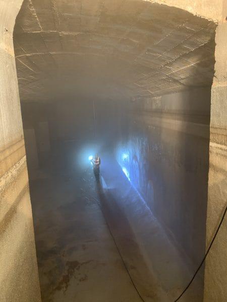 agglomeration herault mediterranee nettoyage entretien eau reservoir montmorency pezenas butte du chateau