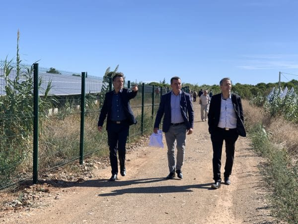 agglomeration herault mediterranee inauguration centre solaire photovoltaique energie transition saint thibery total energies renouvelables