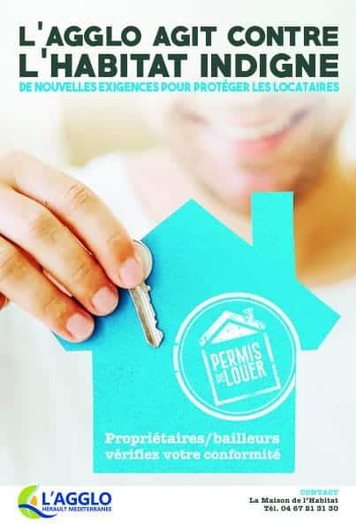 agglomeration herault mediterranee permis de louer autorisation habitat logement campagne